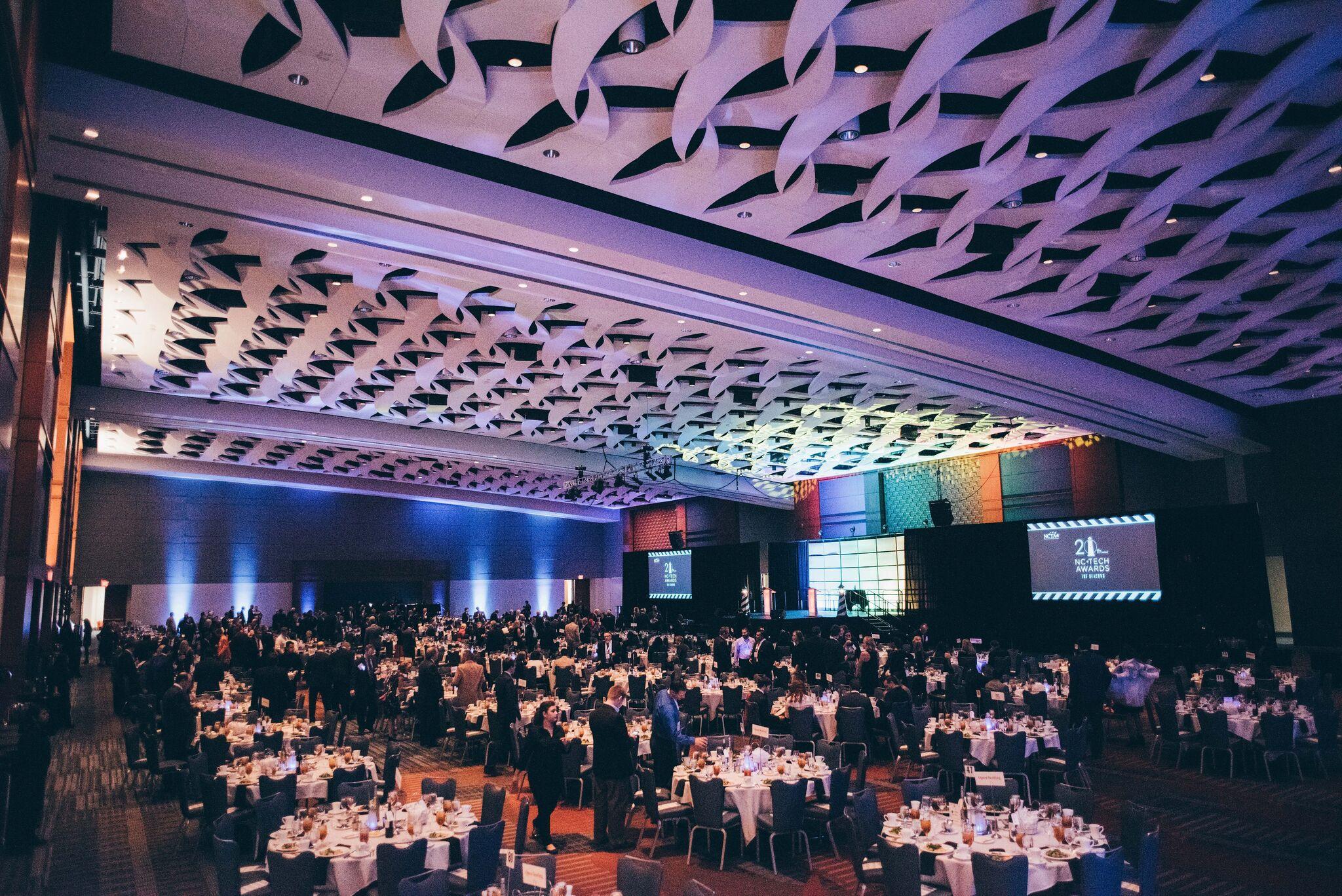 Tech awards ballroom
