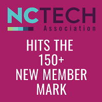 NC TECH Reaches 150 New Member Mark